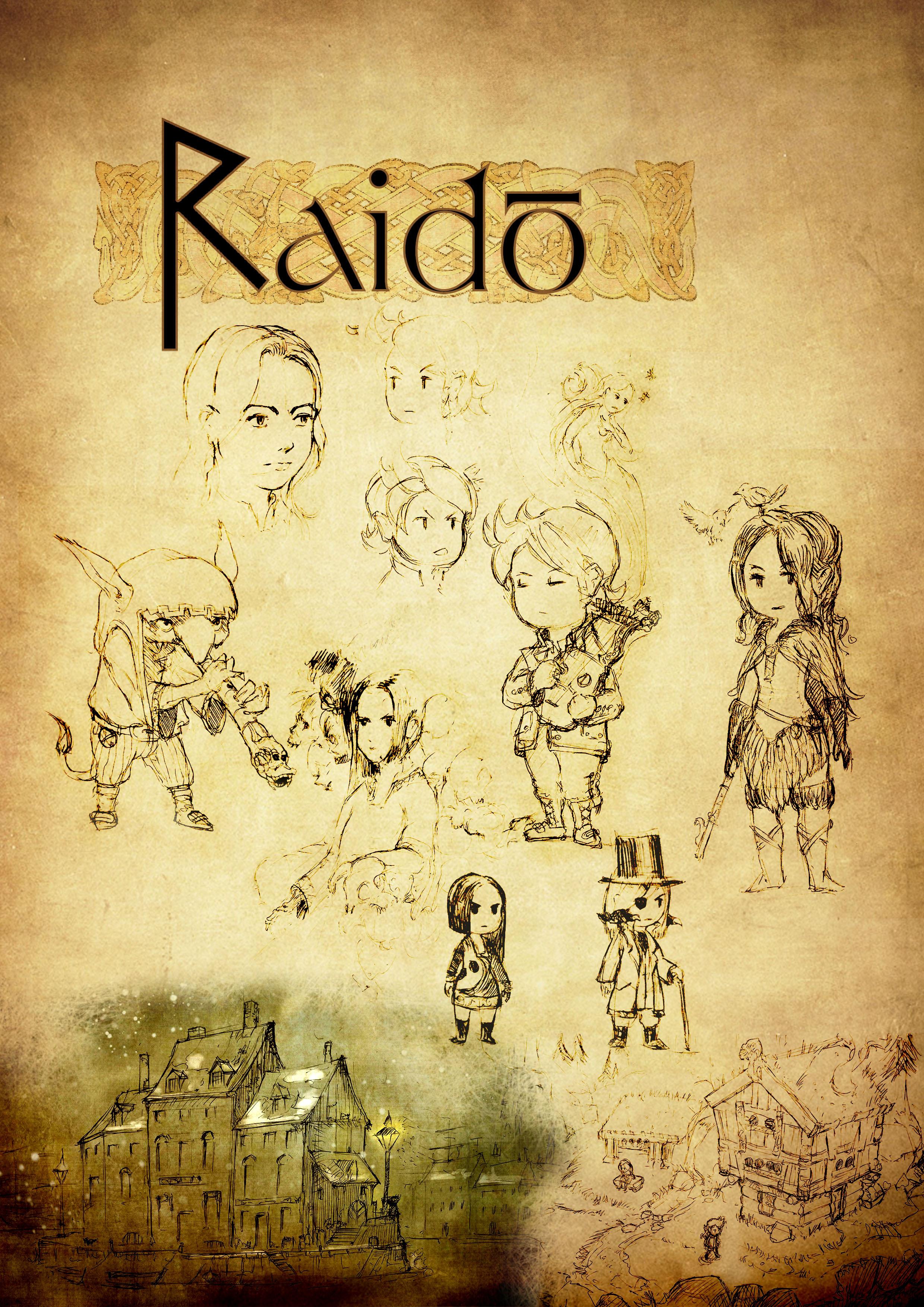 Raido - JRPG Musical concept - Gaphic Bible by Pierre Etienne Travers.jpg